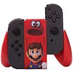 PowerA Joy-Con Comfort Grip for Nintendo Switch $13 (Super Mario Odyssey)