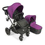 Babyroues Letour Avant Stroller w/ Bassinet Black Frame (Plum) $188 (orig. $550)