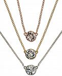 Extra 30% Off Jewelry Sale: Givenchy Crystal Pendant Necklaces $19.60 & Many More