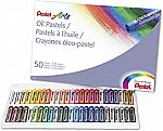 Pentel Arts Oil Pastels, 50 Color Set (PHN-50) $5.71