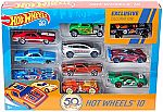 Hot Wheels Amazon 50th Anniversary Vehicles $13 (Pre-order)
