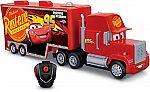 Cars RC Mack Hauler Vehicle $19 (65% Off) & More Toys Sale