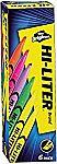 6-Pack Hi-Liter Pen Style (Assorted Colors) $1.62