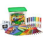 80-Piece Crayola Creativity Tub $10 + pickup