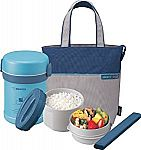 Zojirushi SL-MEE07AB Ms.Bento Stainless Lunch Jar, Aqua Blue $27