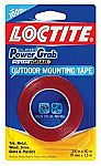 Loctite Clear Power Grab outdoor Mounting Tape 3/4 Inch by 60 Inch $1.50 (83% off)