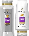2-Pack of 25.4-oz Pantene Volumizing Shampoo and Sulfate Free Conditioner for Fine Hair, Sheer Volume $9.79 and More
