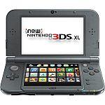 New Nintendo 3DS XL Console (Black) + Google Home Mini $160