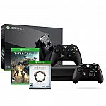 Xbox One X 1TB Console+Xbox Controller(Black)+Titanfall 2+Elder Scrolls Online $459.99