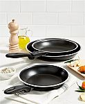 "3-Piece Tools of the Trade Fry Pan Set (8"", 9"" & 11"") $13 and More"