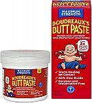 Boudreaux Butt Paste Diaper Rash Ointment Kit $4.69