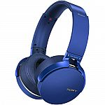 Sony XB950B1 Extra Bass Wireless Headphones $80