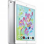 """Apple 9.7"""" iPad (Early 2018 128GB WiFi) $400"""