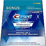 20-Treatment Crest 3D White Professional Effects Whitestrips Whitening Strips $29