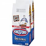 2-bag Kingsford 18.6 lbs. Charcoal $9.88 (50% off)