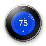 Nest Learning Thermostat 3rd Generation + Free Google Home Mini $199
