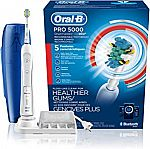 Oral-B Pro 5000 SmartSeries Power Rechargeable Electric Toothbrush $55