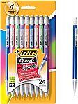24-Count BIC Xtra-Sparkle Mechanical Pencil, Medium Point (0.7 mm) $2.14