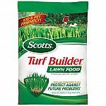 Scotts Turf Builder Lawn Food or Fertilizer (5,000 sq.ft.) $10