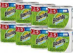 16 Bounty Paper Towels Family Size Rolls $17.54