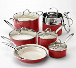 Food Network 13-pc. Ceramic Nonstick Cookware Set $30.59