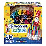 Crayola Pip-Squeaks Washable Markers, Telescoping Marker Tower, 50 count $11.98