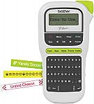 Brother P-touch Easy Portable Label Maker (PTH110) $10