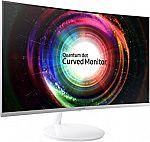 Samsung C27H711 27-Inch WQHD QLED Curved Monitor $289, Samsung C32H711 32-Inch WQHD QLED Curved Monitor $349