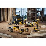 DEWALT 20-Volt MAX Lithium-Ion Cordless Combo Kit (7-Tool) with 3 Batteries in a Rolling ToughSystem Toolbox $499
