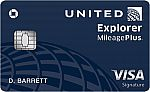 United<sup>SM</sup> Explorer Card - Earn 40,000 bonus miles, $0 Introductory annual fee