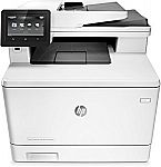 HP LaserJet Pro M477fnw Multifunction Wireless Color Laser Printer With Built-In Ethernet (CF377A) $280