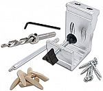 76-Piece General Tools 850 All-In-One Aluminum Pocket Hole Jig Kit $24 (org $50)