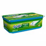 3 x 24ct Swiffer Sweeper Wet Mopping Pad Multi Surface Refills for floor mop Gain scent $23.97 + Get $10 Target Gift Card