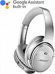 BOSE QuietComfort 35 wireless headphones II $280, QuietComfort 35 $264, SoundSport® wireless headphones $104