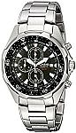 Casio Men's AMW330D-1AV Stainless Steel Watch with Link Bracelet $39.90