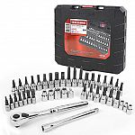 Craftsman 42 piece 1/4 and 3/8-inch Drive Bit and Torx Bit Socket Wrench Set $25