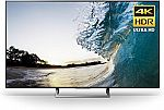 "Sony 65"" 4K Ultra HD Smart LED TV (2017 Model), Works with Alexa $1000 (Save $200)"
