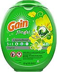 81-Ct Gain Flings Laundry Detergent Pacs (Original Scent) $14 and More