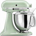 KitchenAid KSM150PSPT Artisan Series 5-Qt. Stand Mixer $210 (51% off)
