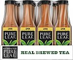 12-Pack of 18.5oz Pure Leaf Sweetened Iced Tea $8.30 & More