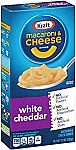 8-Boxes of 7.25oz Kraft Mac & Cheese (White Cheddar) $5.89