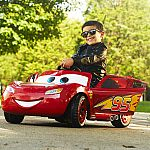 Disney Pixar Cars 3 Lightning McQueen 6V Battery-Powered Ride On by Huffy $79