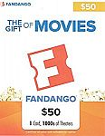 $50 Fandango Gift Card $40