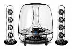 Harman Kardon Soundsticks Wireless Bluetooth Multimedia 2.1 Channel System $150 (Refurbished)