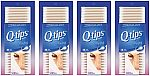 Q-tips Cotton Swabs, 500 Count (Pack of 4) $9