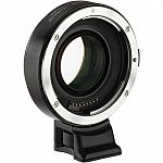 Vello Canon EF or Nikon F Lens to Sony E-Mount Camera Accelerator AF Lens Adapter $99