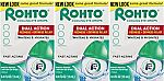 3-count Rohto Cool The Original Cooling Redness Relief Eye Drops, 0.4 Ounce $11.97