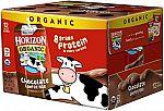 12-pack Horizon Organic 8-oz Low Fat Chocolate Milk $11.38