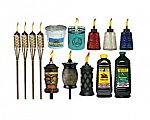 12-Pack Tiki Brand 57-Inch Luau Bamboo Torches $38 and More