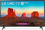 LG 49 Inch 4K HDR Smart LED UHD TV with AI ThinQ - 49UK6300PUE $450 + $300 Dell Gift Card